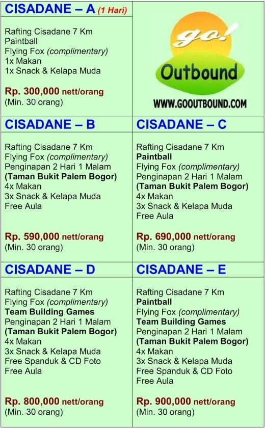 Paket Outbound dan Arung Jeram (Rafting) Bogor