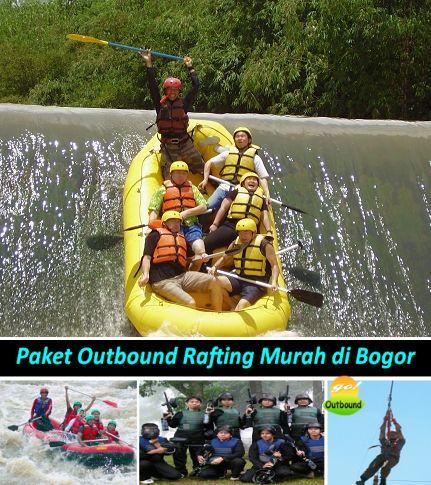 Paket Outbound Rafting Cisadane Bogor Murah